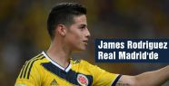 James Rodriguez Real Madrid'de