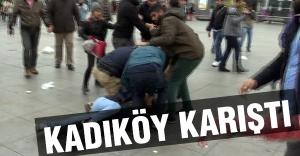Kadıköy Karıştı; Polis Müdahale Etti