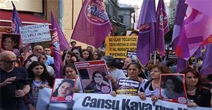 Kadın cinayetine 'ağırlaştırılmış müebbet cezası' için yürüdüler