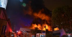 Kağıthane'de yangın paniği