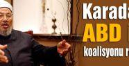 Karadavi, ABD ile işbirliğini reddetti