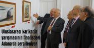 karikatür yarışmasının finalistleri Adana'da...
