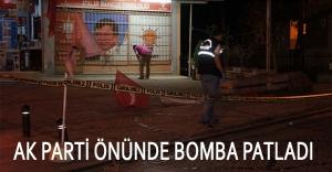 Kartal'da AKP binasına bombalı saldırı