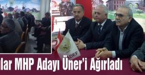 Kavaklılar MHP Adayı Üner'i Ağırladı