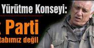 KCK AKP'yi muhatap kabul etmiyor