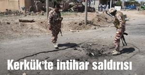 Kerkük'te intihar saldırısı