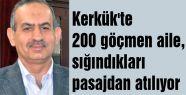 Kerkük'te 200 göçmen aile zor durumda