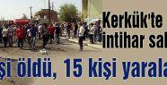 Kerkük'te KDP önünde intihar saldırısı