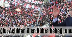 Kılıçdaroğlu: Açlıktan ölen Kübra bebeği unutmadım