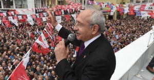 Kılıçdaroğlu Samsun İlçelerini Ziyaret Etti