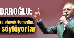 Kılıçdaroğlu: Yanıltıyorlar, kandırıyorlar, yalan söylüyorlar