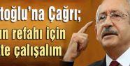 Kılıçdaroğlu'dan Davutoğlu'na Çağrı...