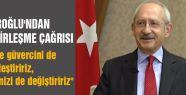 Kılıçdaroğlu'ndan DSP'ye Birlik Çağrısı