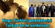 Kırgız Türkleri 'Buzkaşı'