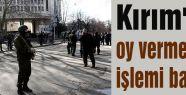 Kırım'da oy verme işlemi başladı