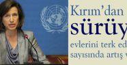 Kırım'dan kaçış 12 bine ulaştı