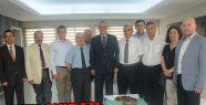 Kızılay'dan Başkan Ergün'e Tebrik Ziyareti