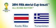 Kosta Rika çeyrek finalde