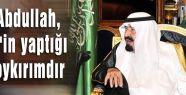 Kralı Abdullah, İsrail'in yaptığı bir soykırımdır