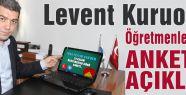 Kuruoğlu'ndan 24 Kasım Öğretmenler Günü Anketi