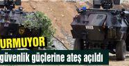 Lice'de güvenlik güçlerine ateş açıldı