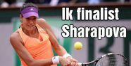 lk finalist Sharapova