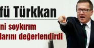 Lütfü Türkkan, Davutoğlu'na çağrıda bulundu