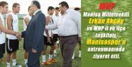 Manisa MHP'den Manisaspor'a Destek