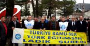 MEB Yasa Tasarısı Ladik'te Protesto Edildi