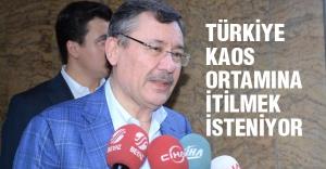 Melih Gökçek, Ahmet Hakan'ı ziyaret etti