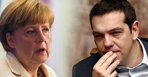 Merkel-Gabriel ikilisinden Yunanistan'a rest!