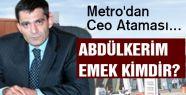 Metro'dan Ceo Ataması...
