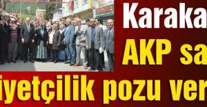 Mevlüt Karakaya: AKP Sahte Milliyetçilik Pozu Veriyor.