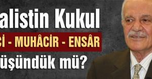 M.Halistin Kukul: DİLENCİ - MUHÂCİR - ENSÂR