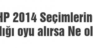 MHP 2014 Seçimlerinde aldığı oyu alırsa Ne olur?