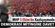 MHP 5 Ekim'de İstanbul'da