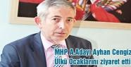 MHP A.Adayı Cengiz Ülkü Ocaklarını Ziyaret Etti