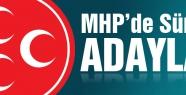 MHP Adaylık Listesin'de sürprizler