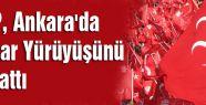 MHP, Ankara'da İktidar Yürüyüşünü Başlattı
