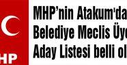 MHP Atakum Meclis Üyeleri...