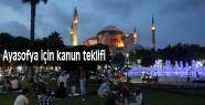 MHP Ayasofya için kanun teklifi verdi