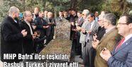 MHP Bafra ilçe teşkilatından Başbuğ Türkeş'e kabri başında vefa