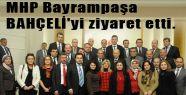 MHP Bayrampaşa'dan BAHÇELİ'ye ziyaret
