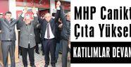 MHP Canikte Çıta Yükseltiyor
