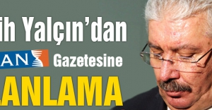 MHP'den Zaman Gazetesi Haberine yalanlama