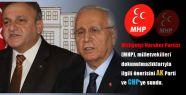 MHP Dokunulmazlık Önerisini Sundu