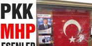 MHP Esenler bürosuna saldırı...