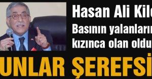 MHP Hasen Ali Kilci: Bunlar Şerefsiz...
