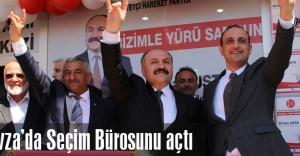 MHP Havza'da Seçim Bürosunu Açtı