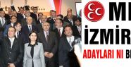 MHP İzmir Adayları...